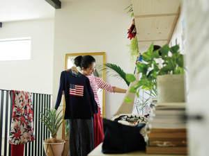 大好きな洋服をとことん楽しむ家、暮らし。