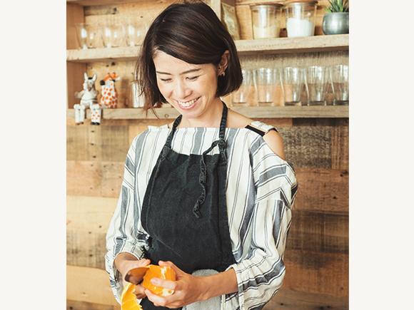 直子さんがつくるのは、からだにやさしい食事ばかり。