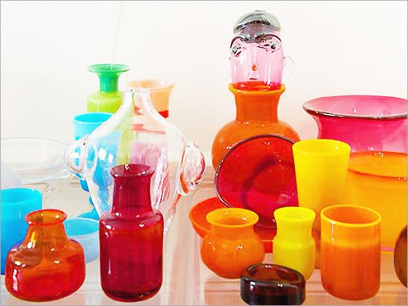 ホグランのガラス作品