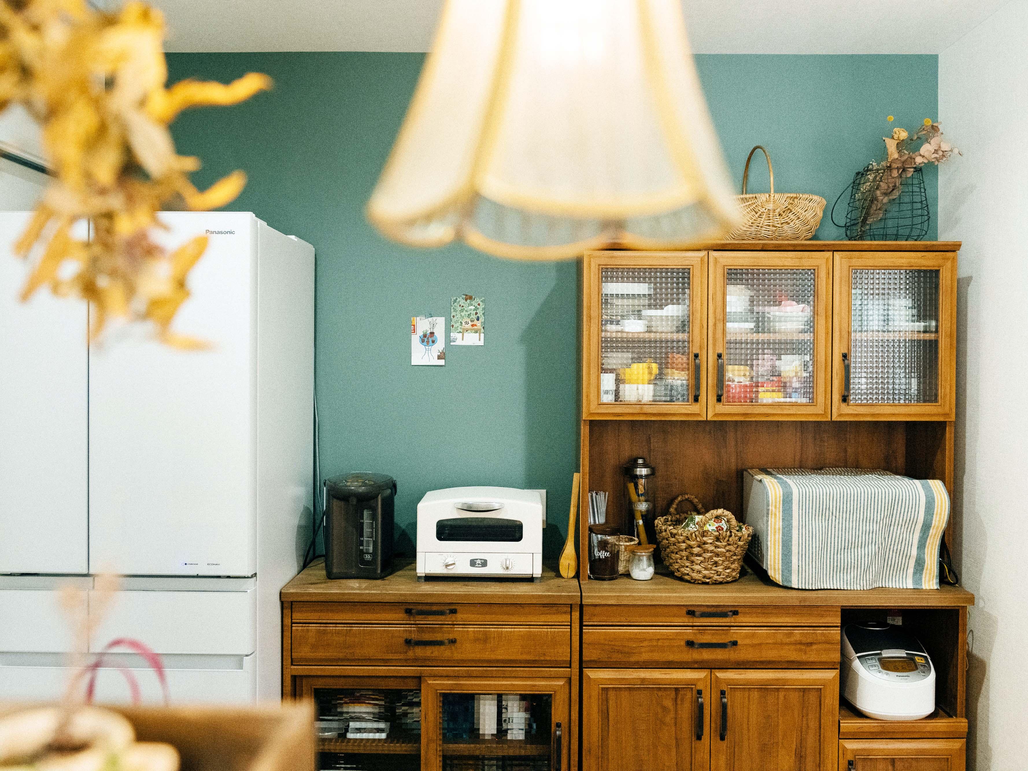 キッチンにもこだわりのセミオーダー家具