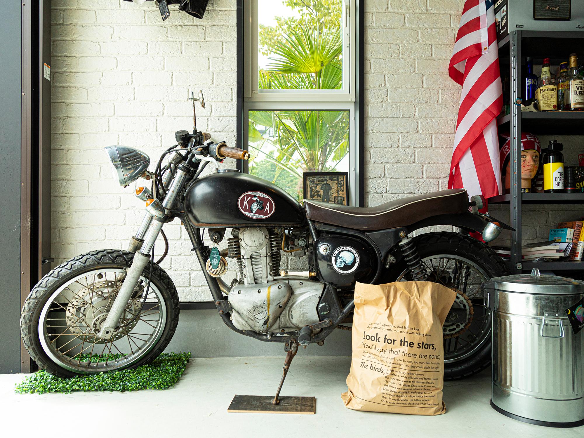 ご主人お気に入りのバイク。