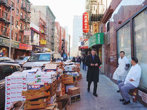 西半球最大の中華街。