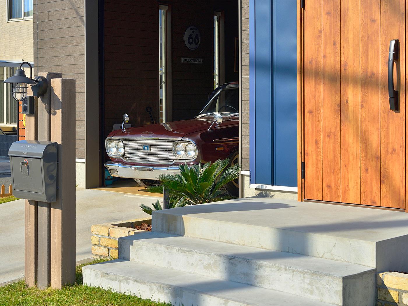 家を建てるうえで絶対に譲れなかったガレージ。