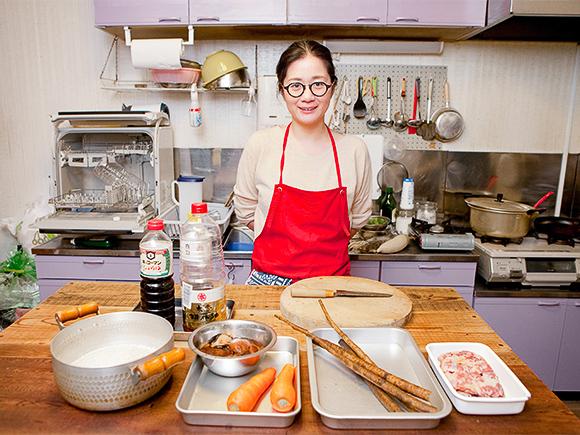 別府在住の料理研究家として活躍する、宮川園さん