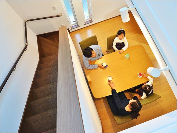 家族4人で囲む食卓が日々の楽しみ。