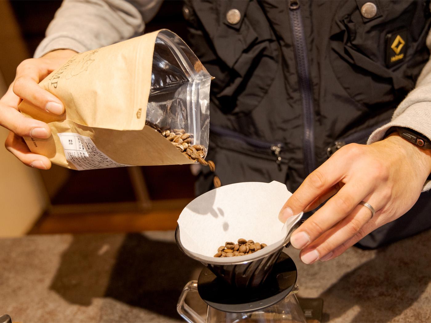 豆は「FISTBUMP COFFEE ROASTARY」のもの。