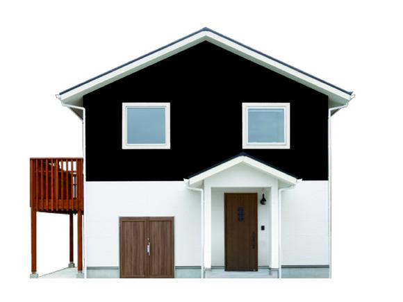 アウトドアを楽しむ北欧スタイルの家 建物はコンパクト、生活空間はワイドという理想を実現しました。 床の高さを半階ずつずらして立体的に空間をつなぐ スキップフロアによって 外観からの想像をはるかに超えたゆとりをもたらします。